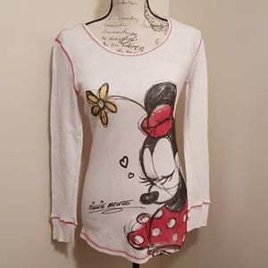 Women's Disney Minnie Mouse Thermal L